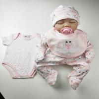Buy cheap Knitted Infant Baby Clothes , Anti Static Boutique Baby Clothes 5pcs from wholesalers