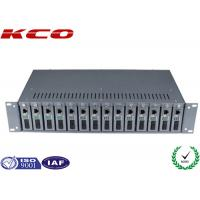 Buy cheap 14 Slots Optional Multimode Media Converter 19 Inch 2U Chassis Rack Type from wholesalers