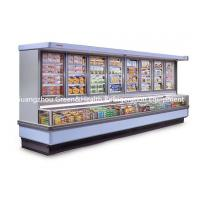 Buy cheap Painted Steel Combined Display Refrigerator Island Freezer With Big Capacity With Dynamic Cooling from wholesalers