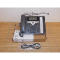 Buy cheap CP-7861-K9 SIP 7800 Series VoIP IP Phone Wired Ethernet RJ45 Low Power Dissipation from wholesalers