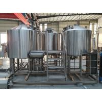 Buy cheap Small Model 300L 500L Craft Beer Brewing Equipment Brewery System Beer Fermenting Turnkey Plant For Bar from wholesalers