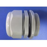 Wholesale PG63 Gray IP68 Electrical Cable Gland , Nylon Cable Gland With ROHS Report from china suppliers