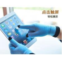 Buy cheap 2013 fashion warm touch gloves for Smartphones and Tablets, 5-finger Touch knitted gloves from wholesalers