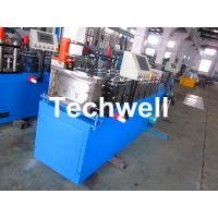 Steel Stud and Track Cold Roll Forming Machine for Light Weight Steel Truss / Furring Channel Manufactures