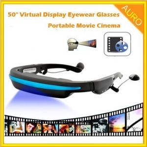 "50"" Virtual Display Eyewear 3D Glasses Portable Movie Cinema Manufactures"