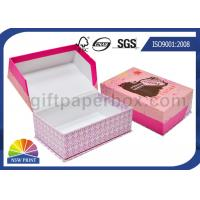 Buy cheap Custom Clamshell Cardboard Soap Gift Box Printed Rigid Packaging Box with Hinged Lid from wholesalers