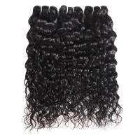 Buy cheap Water Wave Indian Weft Hair Extensions In Human Hair Weave For Black Women product