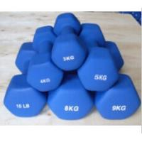 Buy cheap Fixed Weight Hex Neoprene Coated Dumbbell from wholesalers