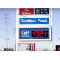 China Led Digit Segment LED Gas Price Signs / Led Gas Station Price Signs on sale