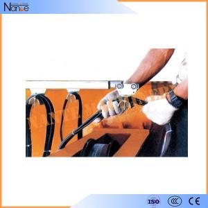 Crane C Rail Festoon System Galvanized Steel Conductor Rails With Brass Dowel Manufactures