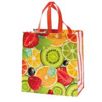 Buy cheap Multi Color Eco Friendly Non Woven Shopping Bag , Laminated Grocery Bag product