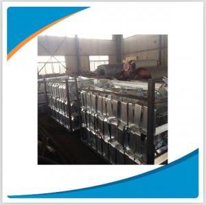 Steel bracket for transport belt, roller bracket/frame