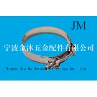 Buy cheap Stainless Steel 304 T Bolt Hose Clamp 19 mm Wide Band  Size 25 mm - 35 mm from wholesalers