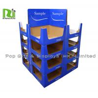 Buy cheap Cardboard retail sport product 1/4 pallet display rack for Clothes from wholesalers
