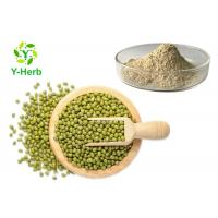 Buy cheap 80 Mesh Mung Bean Protein Peptide Powder 80% 90% Green Bean Extract from wholesalers