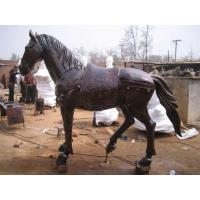 Wholesale cast Bronze Horse Sculptures- size can customized from china suppliers