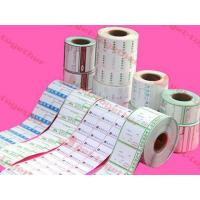 Buy cheap Asia Yinlong tab Adhesive Labels For Bar Code Labels, Daily Chemical Industry product