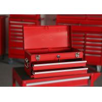 Buy cheap Small Red / Black / Blue Waterproof Tool Box With Handle , Mechanics Tool Chest from wholesalers