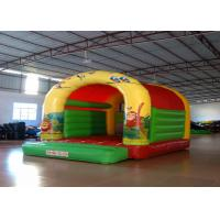 Buy cheap Forest animals theme inflatable bouncers /  inflatable bouncer with roof Inflatable simple bouncy house from wholesalers