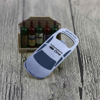 Buy cheap Cheap Promotion Blank Stainless Steel Engrave Car Shape Bottle Opener from wholesalers