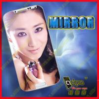 Buy cheap hot sale fashion clear mirror screen protector for SAMSUNG s4 from wholesalers