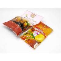 Buy cheap PET/ AL / PE Vacuum Pouches For Food Packaging With Aluminium Three Side Seal from wholesalers