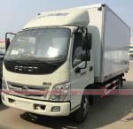 Buy cheap Foton Refrigerator Van Truck, Foton 5Tons Van Truck for meat fruit vegetable for sales from wholesalers