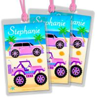 Buy cheap Custom design size and shape Printed Technics copperplate printin Personalised Bag Tags from wholesalers