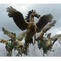 Wholesale square Decoration Bronze fountain from china suppliers