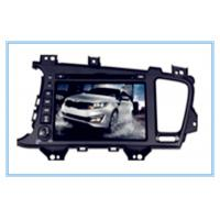 Buy cheap KIA Two DIN 8'' Car DVD Player with gps/TV/BT/RDS/IR/AUX/IPOD special for K5/OPTIMA from wholesalers