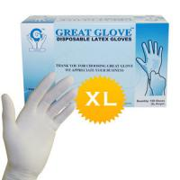 Buy cheap 9 Length Disposable Examination Large Exam Latex Gloves wholesale from wholesalers
