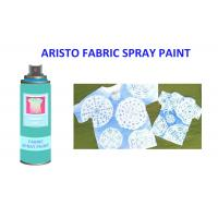 Buy cheap Alcohol Based Non - fading T Shirt Spray Paint Pink Blue Green Red Textile Painting Spray from wholesalers
