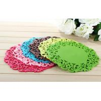 Buy cheap promotional gift cup mat cheap cup pvc mat pad table protector heat resistant silicone mat from wholesalers