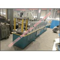 Color Coated Steel Rain Gutter Forming Machine With Strong Structure Manufactures