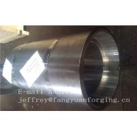 16Mo3 Steel Forged Ring Forged Cylinder Flange Heat Treatment And Machined