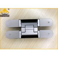 Aluminium Alloy Wardrobe Door Hinges Spring Loaded Hinges Baking  Finish Manufactures