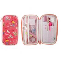 Buy cheap Cute Zip Around Pen Bag Pencil Case Travel Passport Wallet Stationery Organizer from wholesalers