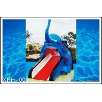 Buy cheap Outdoor Water Pool Slides for Kids, model of Small Elephant from wholesalers