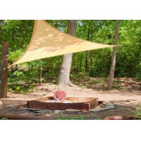 Buy cheap UV Protection Triangle Sun Shades For Patios Reinforced Webbing Along The Edges from wholesalers