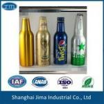 Buy cheap Screen Printing Aluminum Beer Bottles Empty Beer Bottles With Screw Cap from wholesalers