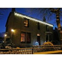 China 3.5m length 0.5m drops outdoor warm white LED Icicle light on sale