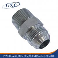 Buy cheap 1JO CNC machinery Carbon steel hydraulic JIC SAE O-Ring Adapter from wholesalers
