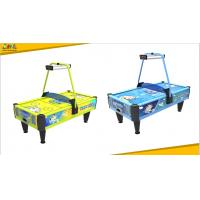 Buy cheap Oem Coin Operated Air Hockey Machine / Token Game Machine With Lifelike Sound Effect from wholesalers