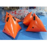 Wholesale Lightweight Orange Inflatable Race Marker Buoys 0.6 Mm PVC Tarpaulin from china suppliers