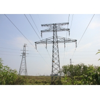 Buy cheap SGS 4 Legs Q235B 500KV Electrical Transmission Tower from wholesalers