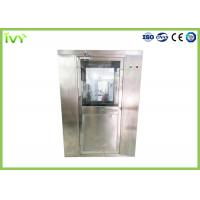 Wholesale Stainless Steel Air Shower Room 550W×1 Set Blower Power Anti Corrosion Featuring from china suppliers