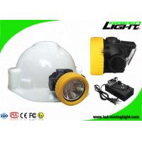 Buy cheap IP68 5000lux ABS Material Led Mining Headlamp 2.2Ah Battery With 15hrs Lighting Time from wholesalers