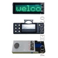 Buy cheap LED programmable badge led tag led mini board 100% led manufacturer sale Green pixel 7*29 80*30*5mm from wholesalers