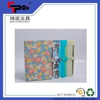 Buy cheap Office Stationery PP A4 6 Pockets Expanding Wallet File Folder With Button from wholesalers