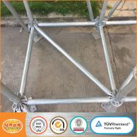 Buy cheap Best sales ringlock layher system scaffolding with CE certification from wholesalers